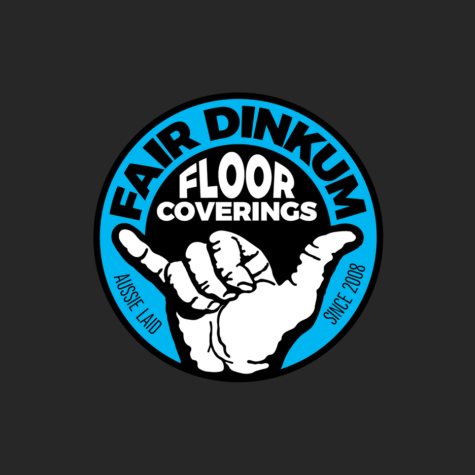 A shiny new brand for Fair Dinkum Floor Coverings! These guys get the job done.