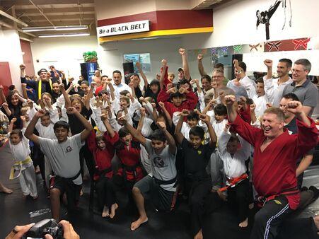Impact Martial Arts Austin Belt Test Dac. 2017