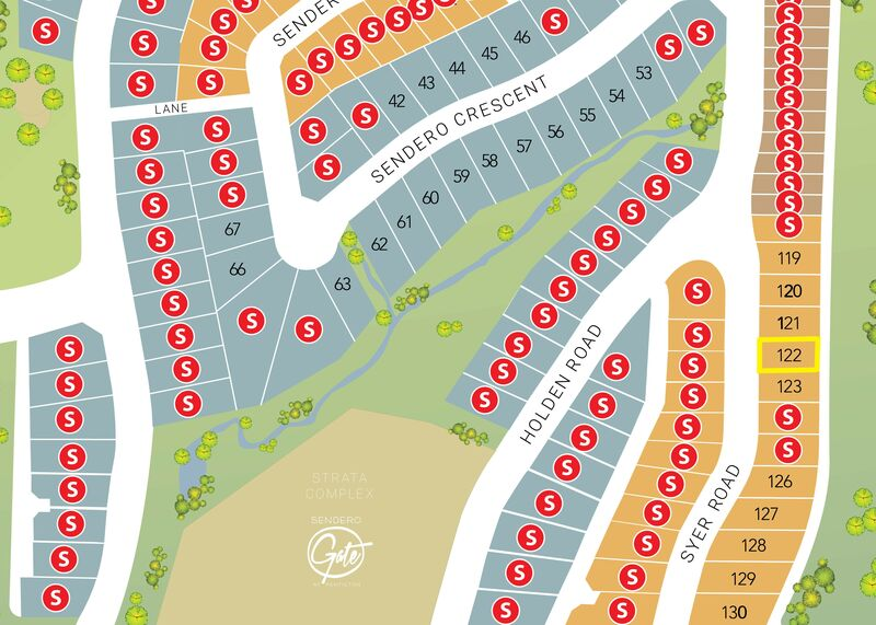 Site Map for Lot   1082 Syer Rd
