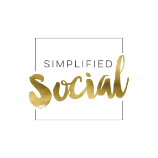 Logo for Simplified Social - Social media marketing