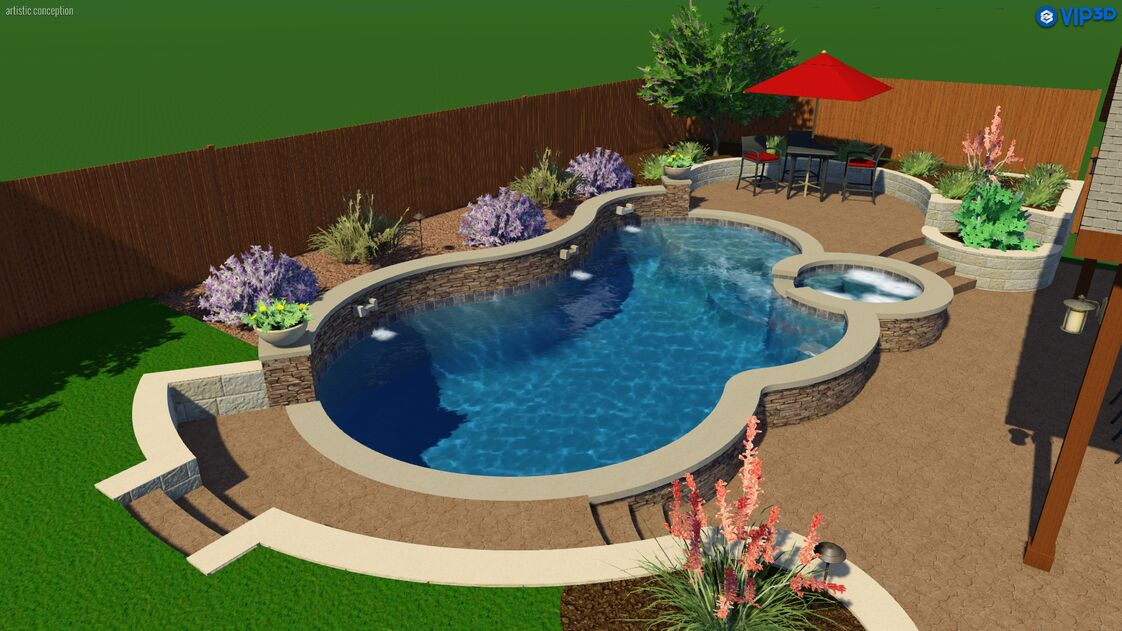 Texas traditions outdoors custom pool builder complete for Pool builder quotes
