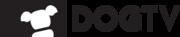 DOGTV logo BLACK horiz