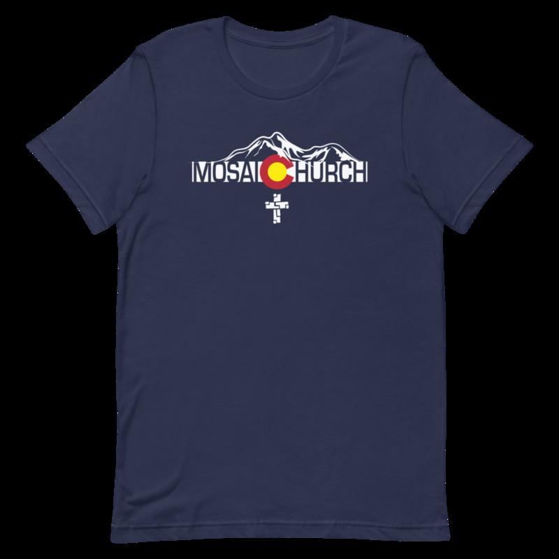 Link to Mosaic Church CO Flag T-Shirt