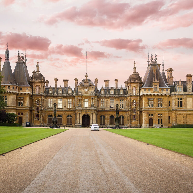 Waddesdon Manor wedding photography and video