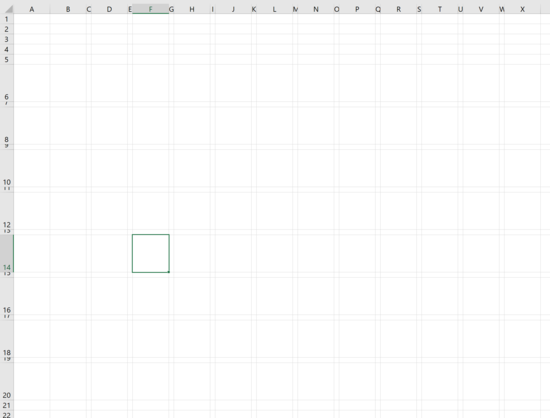 How to create a grid map with square pies charts in excel 10