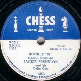This is the Chess Records center label for the 1951 single credited to Jackie Brenston but was really Ike Turner's Kings of Rhythm