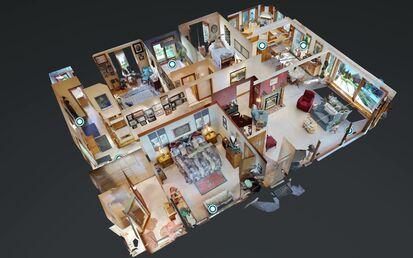 Matterport 3D Dollhouse View