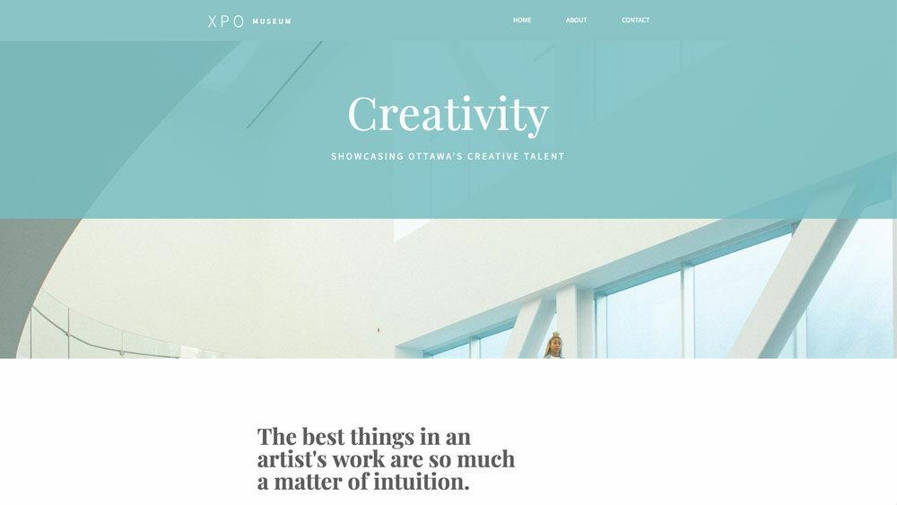 12 Unique Artist Websites & Portfolios [Made Without Code]