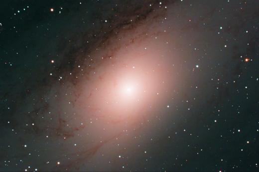 M31 Live Stack
