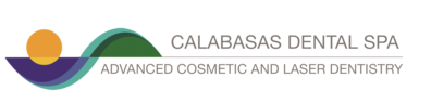 This is the logo for Calabasas Dental Spa