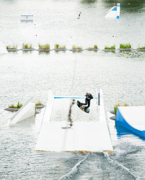 UNIT Parktech world market leader in the construction of superior quality wakepark features.