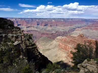 Grand Canyon railroad views on a Arizona scenic rail tour