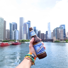 Chicago USA United States Illinios Panama El Brunch Blog Midwest Blue Moon Beer Cerveza Skyline
