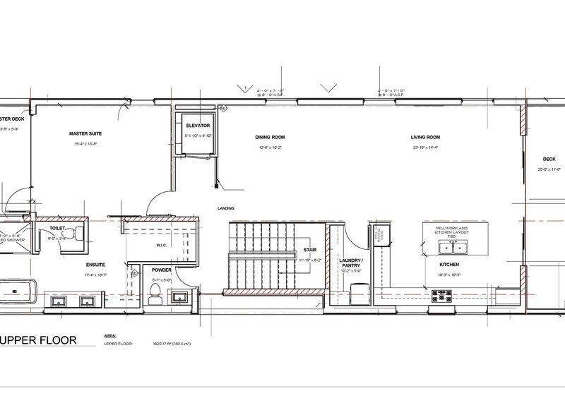 Floor Plan Upper   595 Vancouver Ave