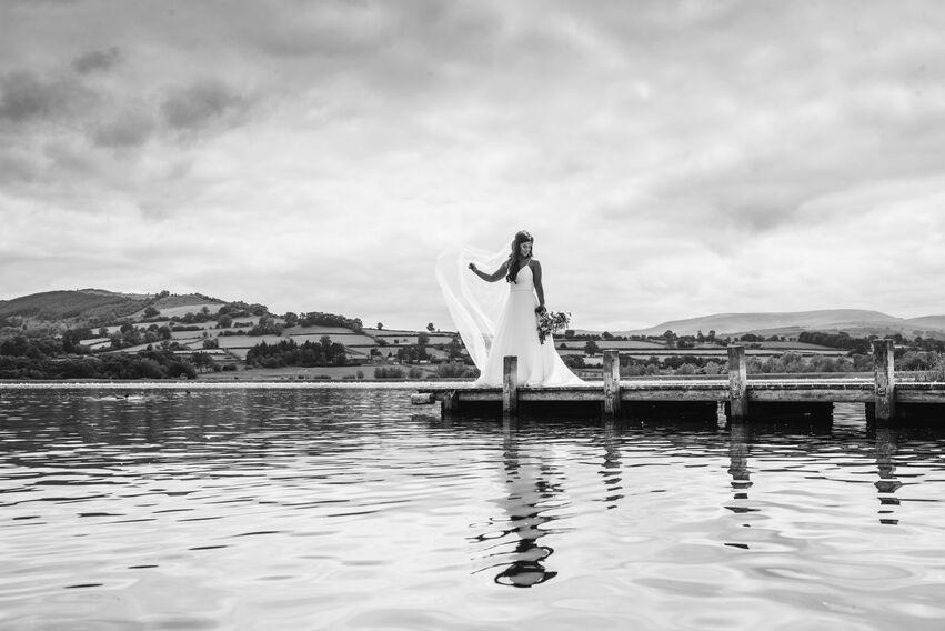 brecon wedding photographer barn at brynych