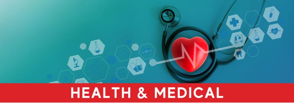 Health & Medical web banner