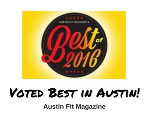 Voted Best in Austin