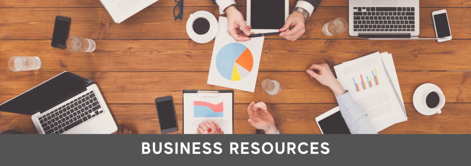 Business Resources web banner