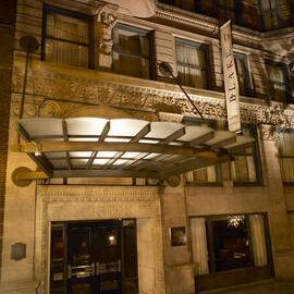 hotel blake chicago exterior night