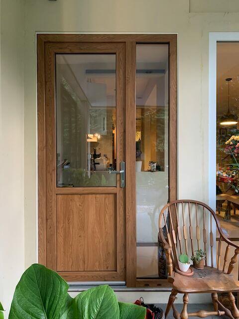 WOHNRAUM. UPVC Entrance door 03