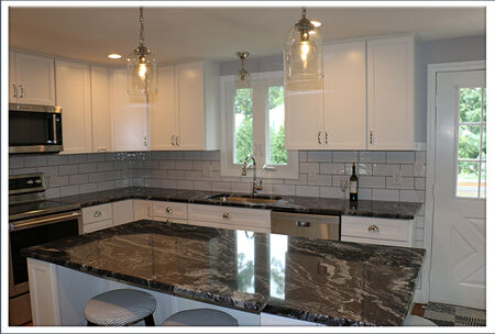 New cabinets and countertops from horizon interiors