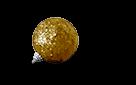 sm ornament sparkle gold