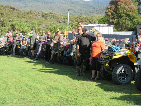 The Outpost and Wilkens 4WD group
