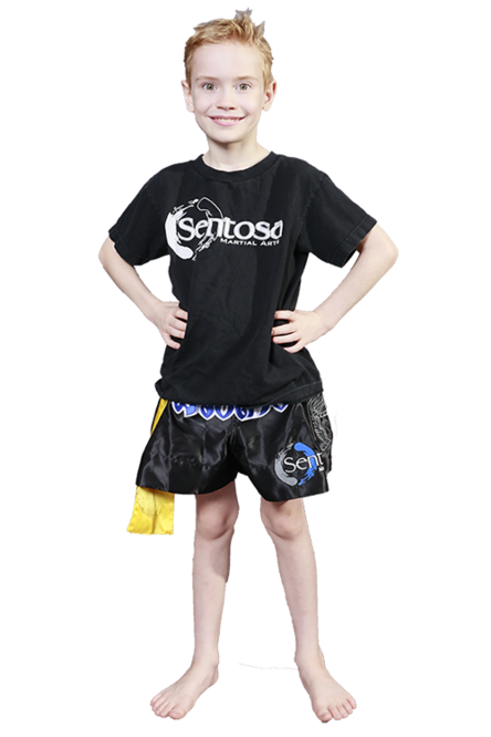 Fun Kids Muay Thai classes in avondale, tolleson, litchfield park and goodyear, arizona at Sentosa Martial Arts.