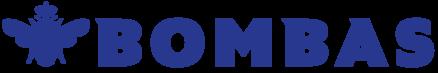 Bombas Logo Left Blue