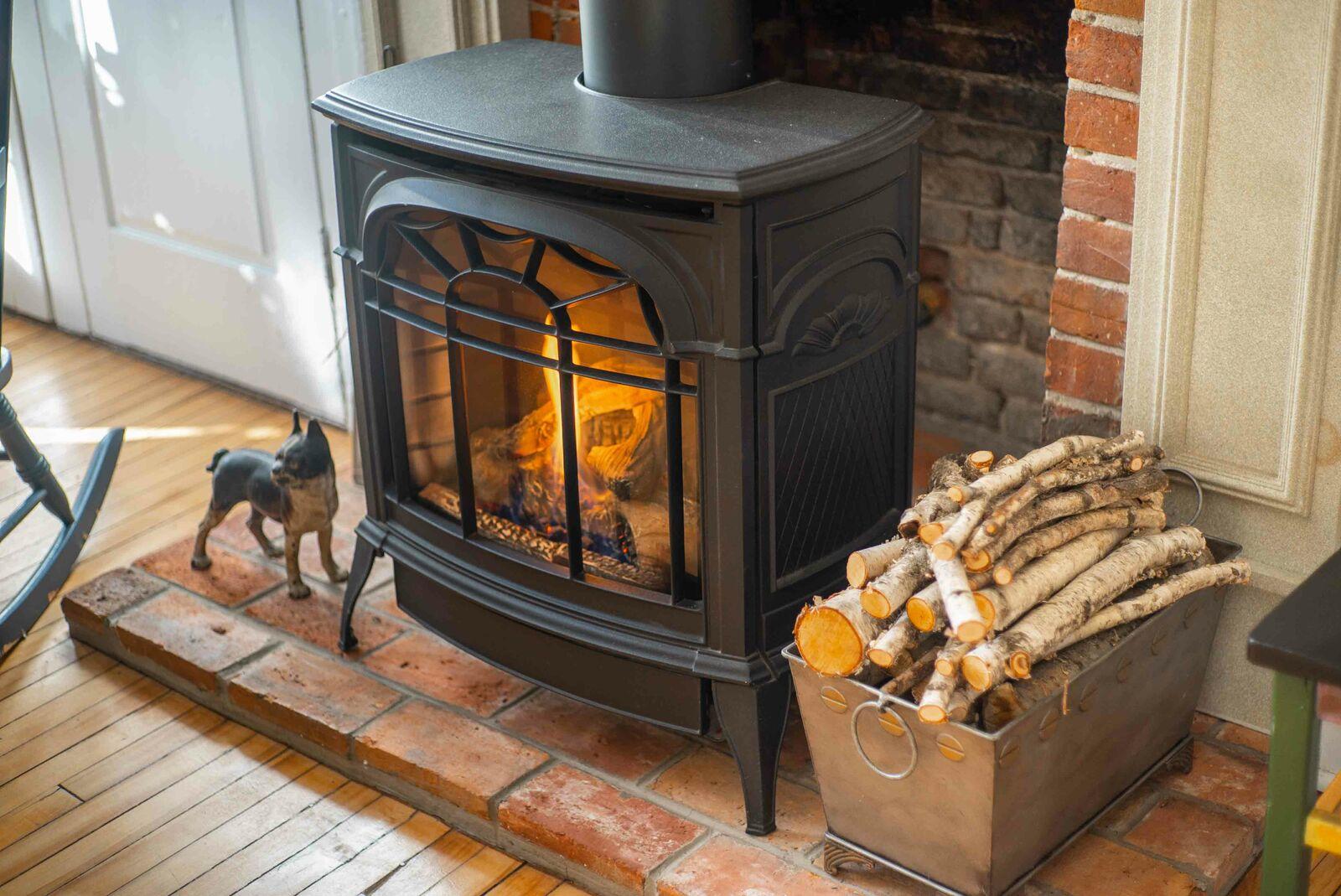 Kitchen Fireplace CU