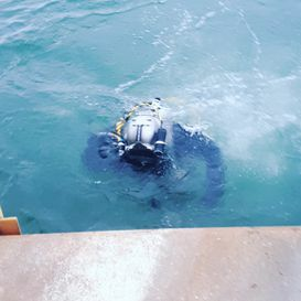 Commercial Diver - Underwater Inspections - Canadian Underwater inspection services Ltd.