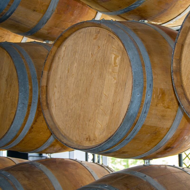 Pineau Barrel ready to refill