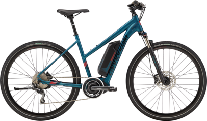 Woman's Cannondale Quick Neo E-bike tour rental