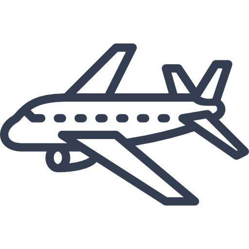Icon takes you to the Air Travel glossary
