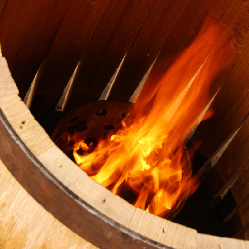 Weinfässer, Barriques und Tonneaux der Tonnellerie Giraud-Galiana