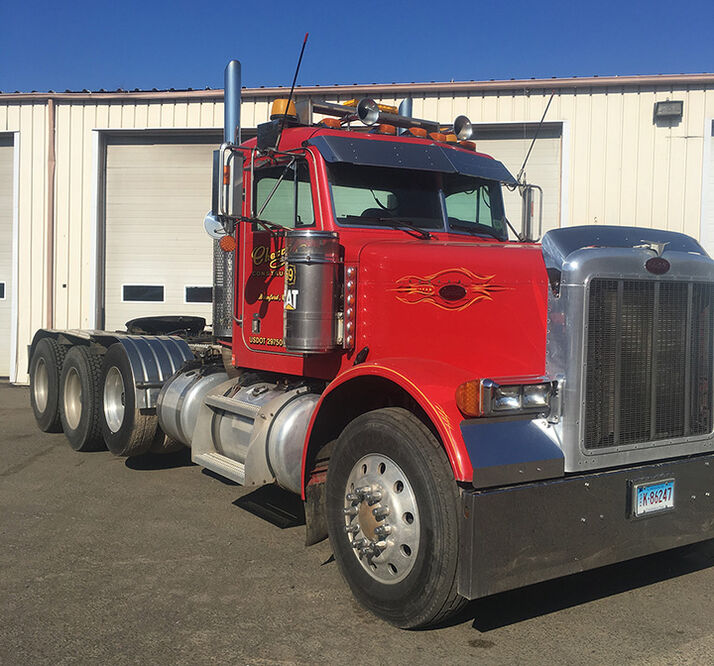 Machine: 2004 Peterbilt Tractor – 379 Material:  CAT 3306/C15 Engine – No Emissions – VIN 1XP5PBTXX4D823991 Heavy Hauler Triaxle, Wet Lines, 18 Speed Transmission, 44 Rears 332,338 Miles, 8,153 Hours Completely Serviced – One Owner – Perfect Condition  PRICE:  $93,900