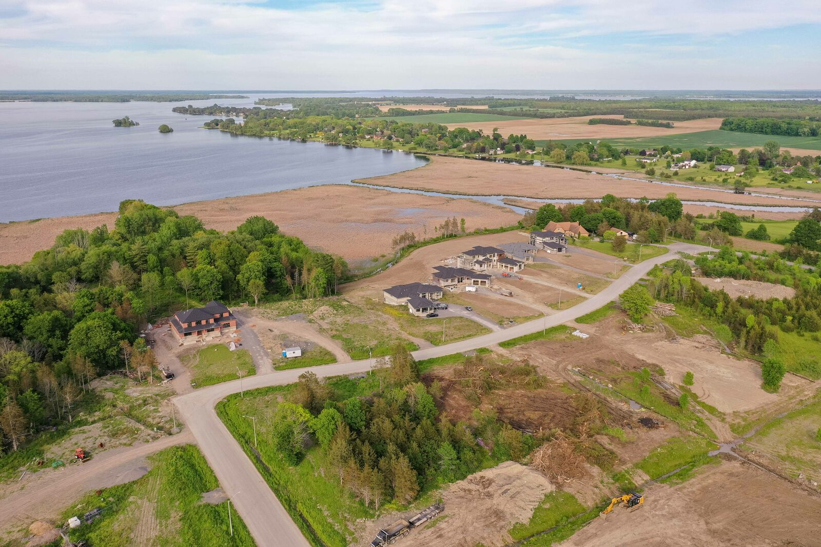 11 Watermark Development Aerial Watermark on the Bay