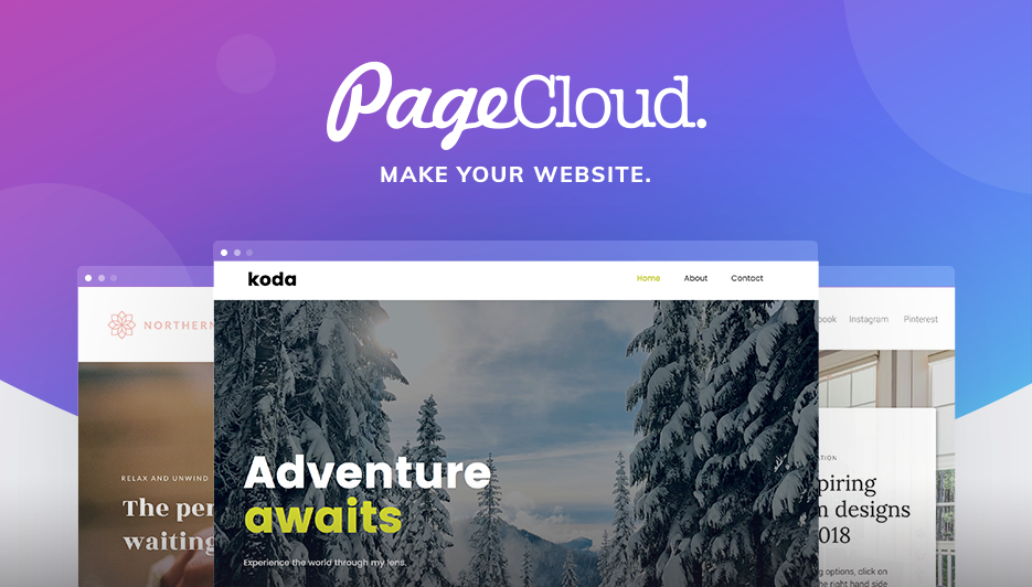 Entertainment and Music Website Templates | PageCloud