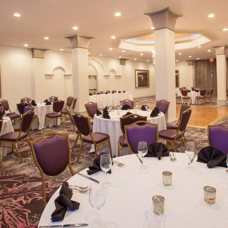 Palace Ballroom   Banquet Setup
