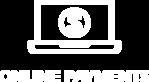Online Pay Icon white