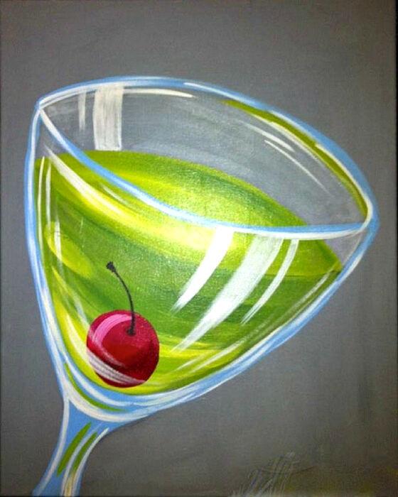 Martini Glass, Drink