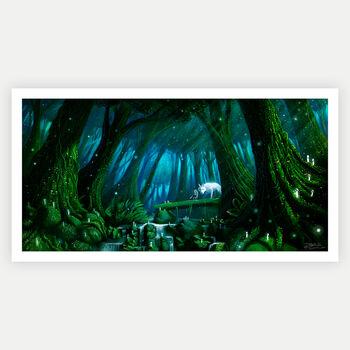 wolvesforest1 poster 61x91 24x36