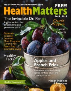 Health Matters Fall 2019 Cover 237x300