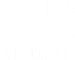 Super Full Moon LOGO WHITE