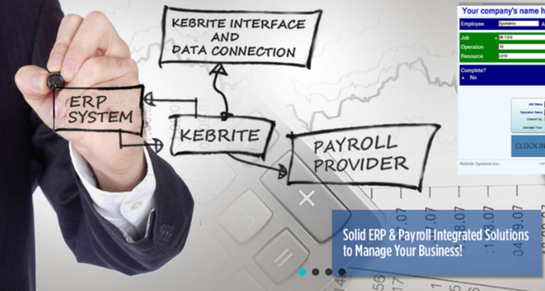 Kebrite Workforce Management for Infor VISUAL ERP