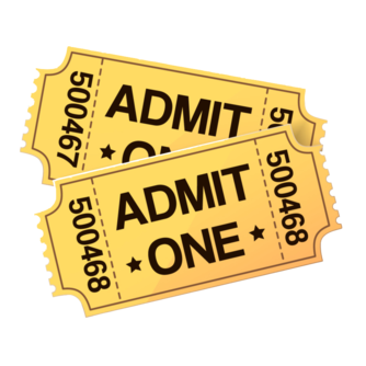 ticket clipart transparent 6