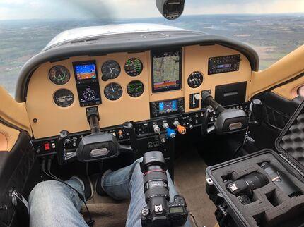 Cessna Panel with Garmin G5s and  EI-CRG-30-Combo