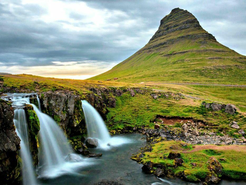Iceland vacation Kirkjufell mountain