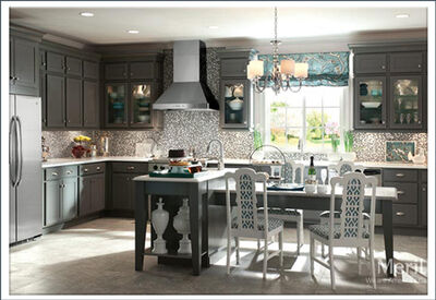 Kitchen renovation from Horizon Interiors.