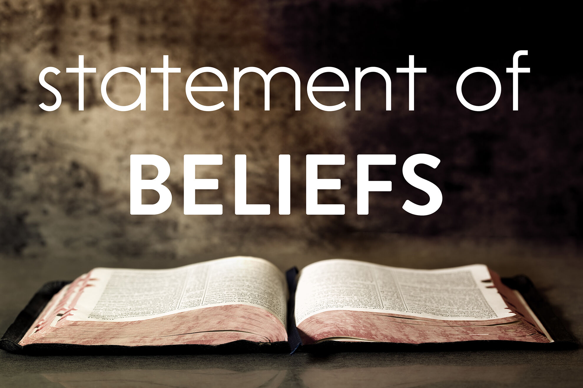 Statement of Beliefs